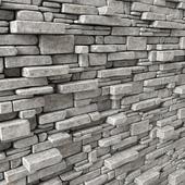 White stone decorative panel / Декоративная панель из белого камня
