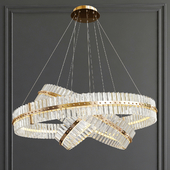 Decorative Ring Glass Chandelier