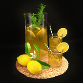 Lemon Decorative Set 00
