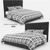 Panel Diamond Bed