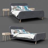 UK Bed Frame Kongsberg by Jysk