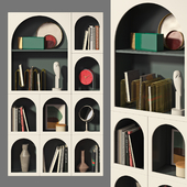 Книжный шкаф Bonaldo set 02