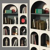 Bookcase Bonaldo set 02