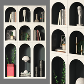Bookcase Bonaldo set 03