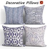 Decorative pillows set 396