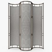 Cox London - Iron and rattan screen