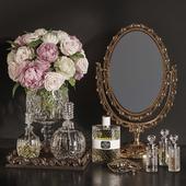 DECORATIVE SET 19 Classic Mirror decoration