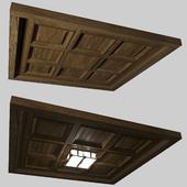 Деревянный потолок-конструктор
