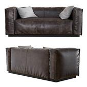 "BLU DOT | Cleon 74"" Leather Sofa"