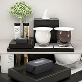 tray with decor