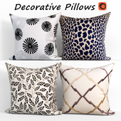 Decorative pillows set 400 Etsy