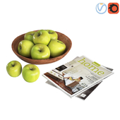 Fruit Bowls Green apples