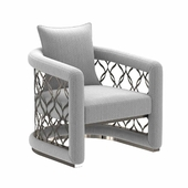 Bernhardt basie chair 3d model