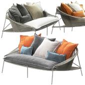 Traveler Outdoor Sofa by Roche Bobois