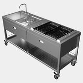 Мобильная кухня ALPES-INOX