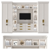 Cabinet with tv area 3