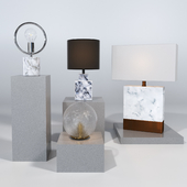 Cb2 table lamps #1