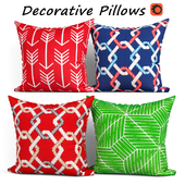 Decorative pillows set 411 Etsy