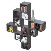 Комбинация настенных шкафов IKEA Экет 4.