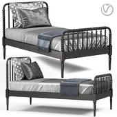 Crate&Barrel Jenny Lind Bed