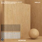 Material wood / acacia (seamless) - set 65