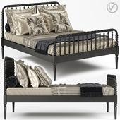 Crate & Barrel Jenny Lind Bed 02