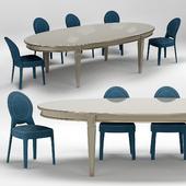 Ritz Medaillon Chair and Vendome Table