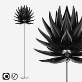 Jeremy Aloe Floor Lamp