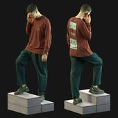 3d scan man 13