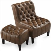 Winslet Chair Ottoman