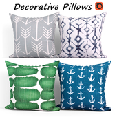Decorative pillows set 417 Etsy