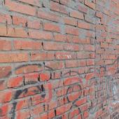 Кирпичная стена _6