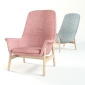 ВЕДБУ Кресло c высокой спинкой
