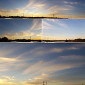 Dusk Yellow sky