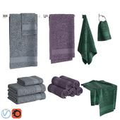 Color Towels Set
