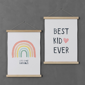 Picture H & M Home (Rainbows and Best Kid)