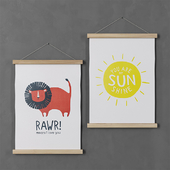 Picture H & M Home (Rawr and Sunshine)