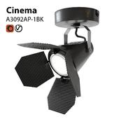 Spot spotlight sconce Artelamp Cinema A3092AP-1BK