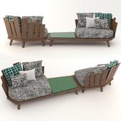 Ethimo outdoor decor   Rafael   Garden furniture set