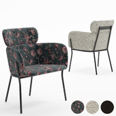 Azalea Gray Mink Chair