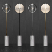 Floor lamp G&C Bolle Soffio (short)