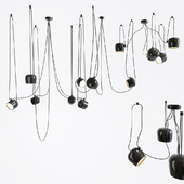IC Aim Point Pendant Lamp Set