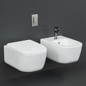 Antoniolupi Komodo Wall-Hung WC and bidet