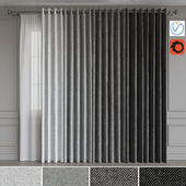 A set of curtains on the rings 16. Gray gamma