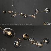 Branching burst 6 lamps