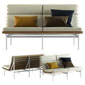 Blu Dot / Perch Outdoor 2 Seat Sofa
