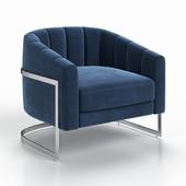 Chair ZW-777 BLU SS Garda Decor