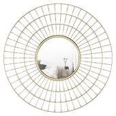 Weisner Round Wire Accent Mirror