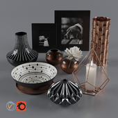 Decorative set 1 by Kelly Hoppen