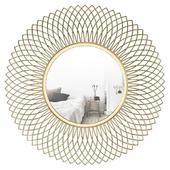 Henninger Metal Glam Accent Mirror